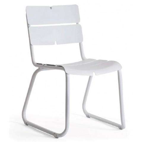 Chaise CORAIL de Oasiq, Blanc