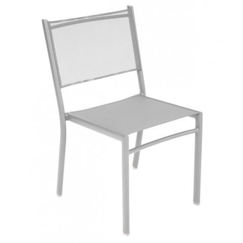 Chaise COSTA de Fermob gris métal