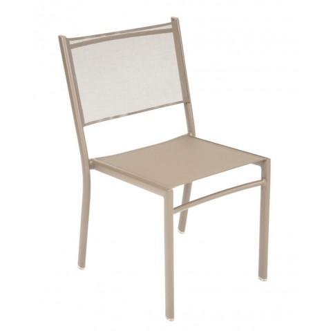 Chaise COSTA de Fermob muscade