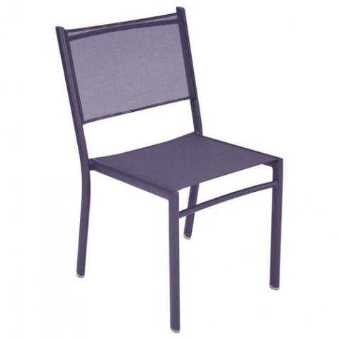 Chaise COSTA de Fermob, Prune