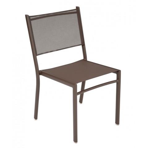 Chaise COSTA de Fermob rouille
