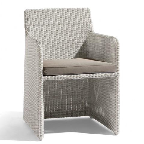 Chaise de table SWING de Manutti blanc