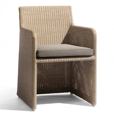 Chaise de table SWING de Manutti coquillage