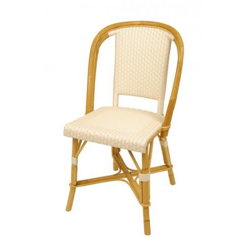 Chaise Drucker blanc