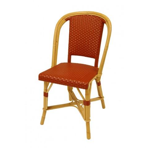 Chaise Drucker brique