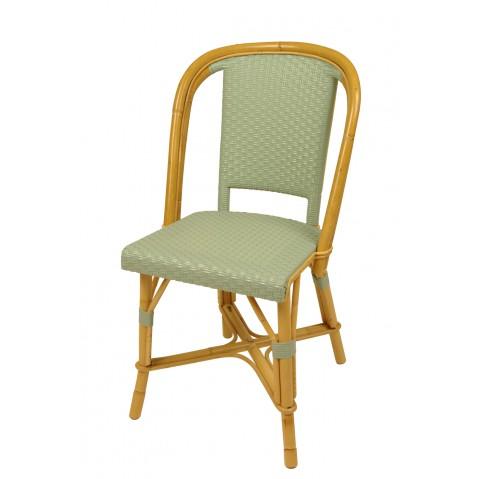Chaise Drucker vert d'eau