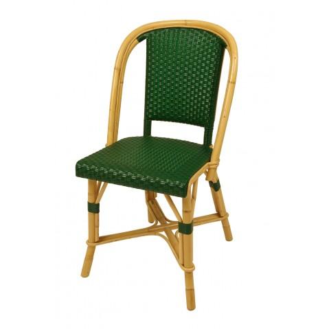 Chaise Drucker vert Sapin