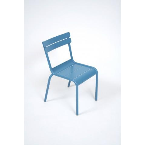 Chaise Enfant LUXEMBOURG KID de Fermob bleu turquoise