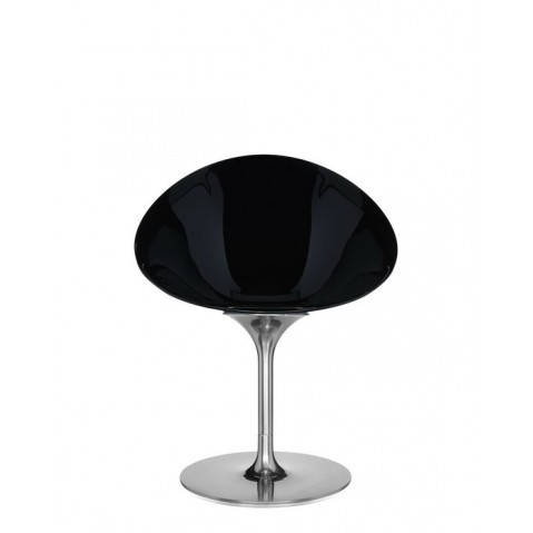 Chaise ERO/S de Kartell, Noir