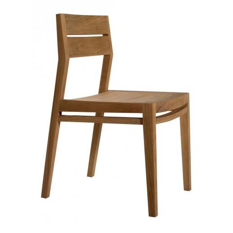 Chaise EX1 en chêne d'Ethnicraft