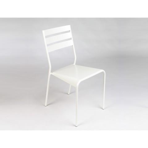 Chaise FACTO de Fermob blanc coton