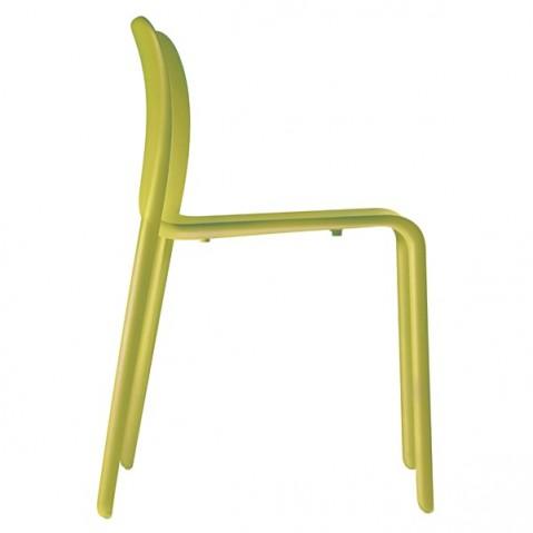 Chaise FIRST de MAGIS vert acidulé