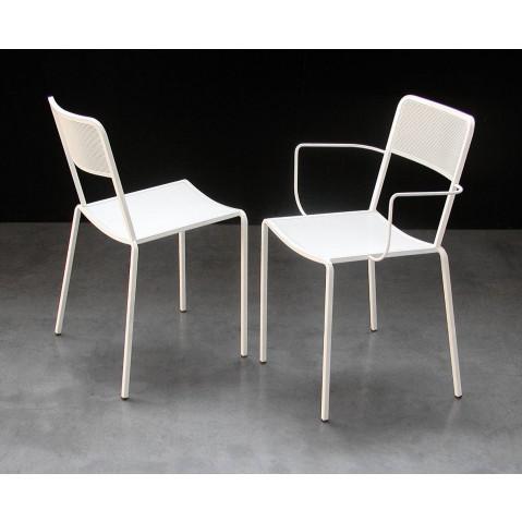 Chaise GINGER de ZEUS blanc