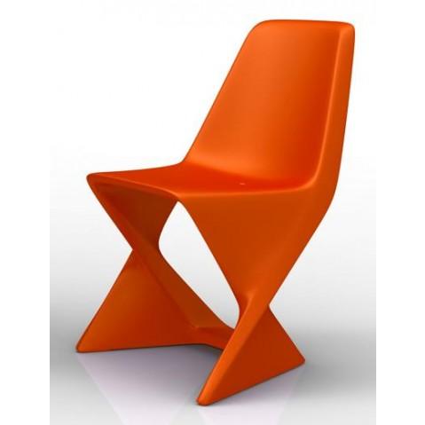 Chaise ISO Qui est Paul Orange