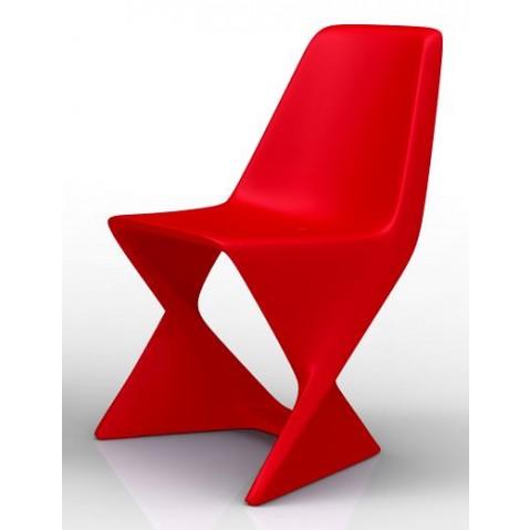 Chaise ISO Qui est Paul Rouge