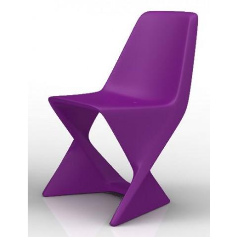 Chaise ISO Qui est Paul Violet