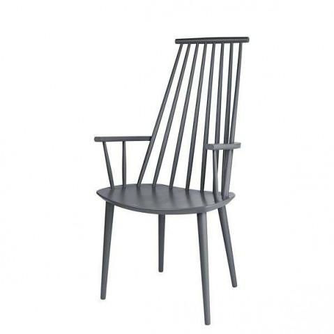 Chaise J110 de Hay, Gris