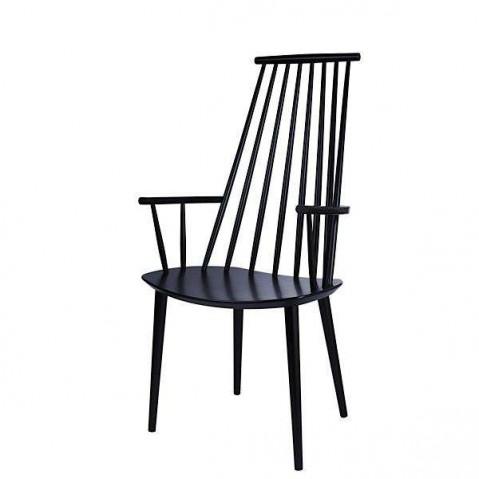 Chaise J110 de Hay, Noir