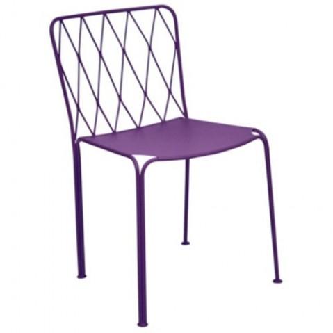 Chaise KINTBURY de Fermob, Aubergine