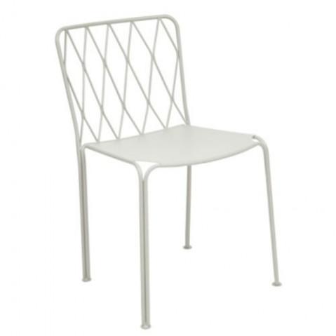 Chaise KINTBURY de Fermob, Blanc