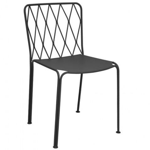 Chaise KINTBURY de Fermob, Carbone
