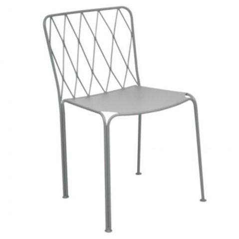 Chaise KINTBURY de Fermob, Gris métal