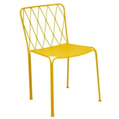 Chaise KINTBURY de Fermob, Miel