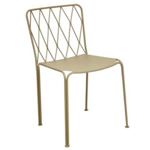 Chaise KINTBURY de Fermob, Muscade
