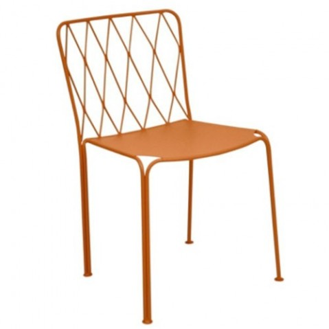 Chaise KINTBURY de Fermob, Paprika