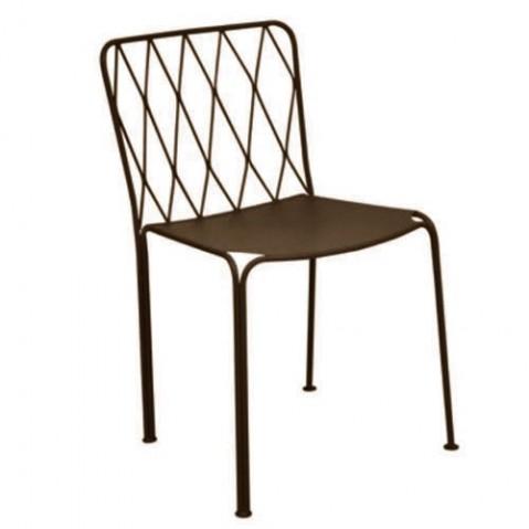 Chaise KINTBURY de Fermob, Rouille