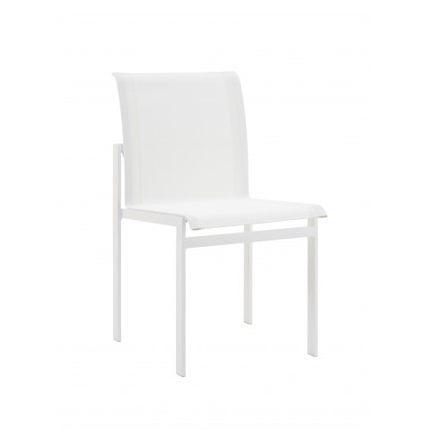 Chaise KWADRA de Sifas, blanc