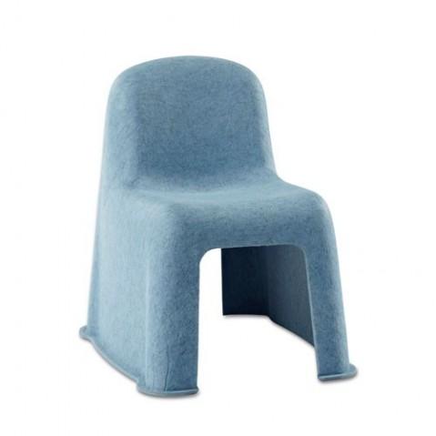 Chaise LITTLE NOBODY de Hay, Bleu