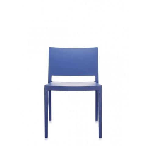 Chaise LIZZ MAT de Kartell, Bleu