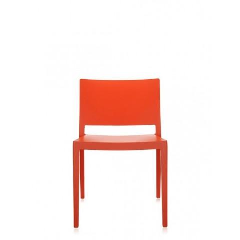 Chaise LIZZ MAT de Kartell, Orange