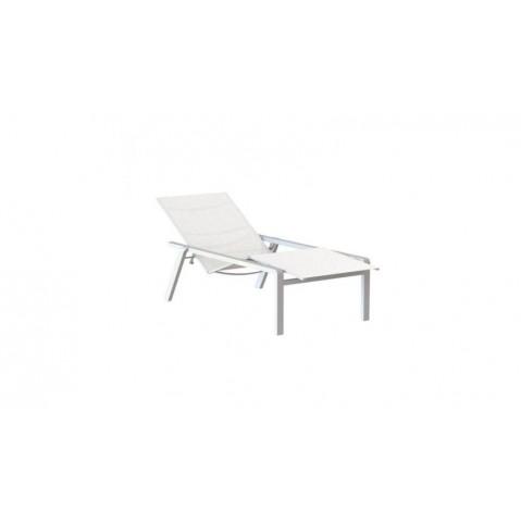Chaise longue ALURA de Royal Botania, Blanc