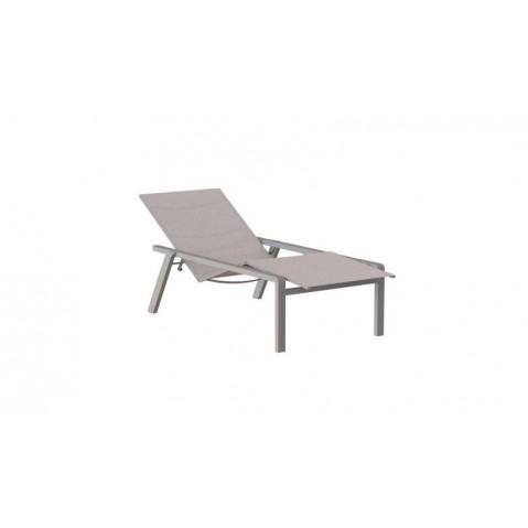 Chaise longue ALURA de Royal Botania, sable