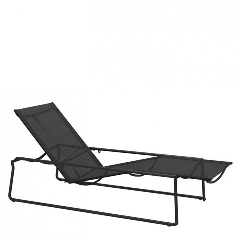 Chaise longue ASTA de Gloster, Meteor/Anthracite