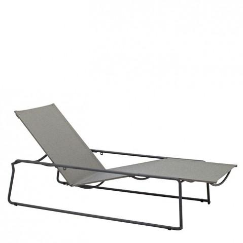 Chaise longue ASTA de Gloster, Meteor/Granite