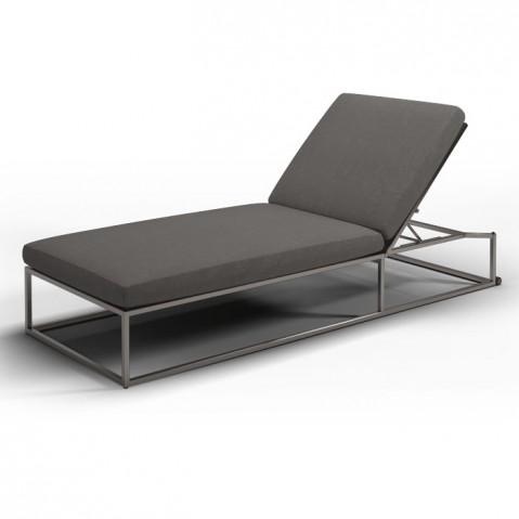 Chaise longue CLOUD de Gloster, Granite
