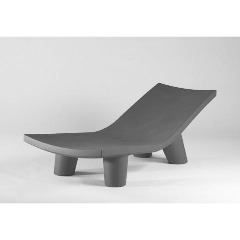 Chaise longue LOW LITA LOUNGE de Slide gris