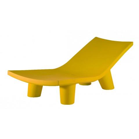 Chaise longue LOW LITA LOUNGE de Slide jaune