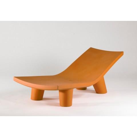 Chaise longue LOW LITA LOUNGE de Slide orange