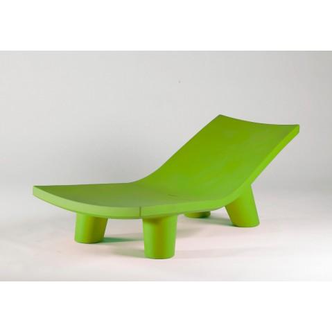 Chaise longue LOW LITA LOUNGE de Slide vert lime