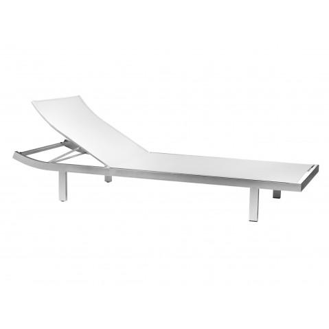 Chaise longue MYSTRAL de Tribù, Blanc