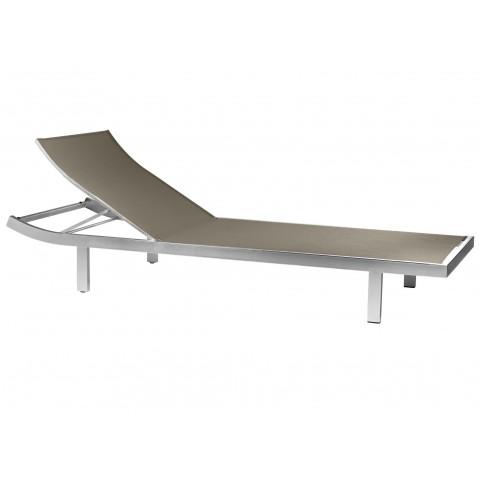 Chaise longue MYSTRAL de Tribù, Quartz