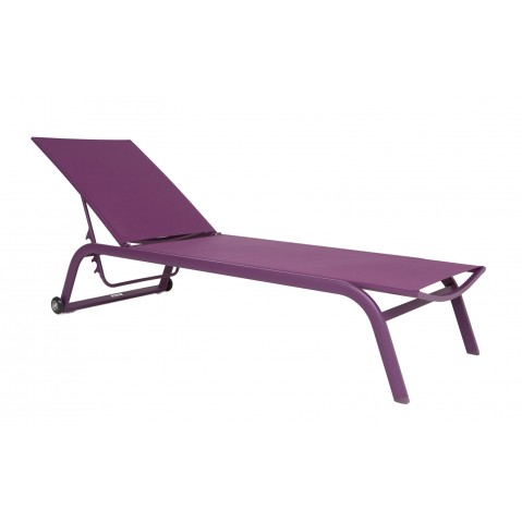 Chaise longue NINO violet