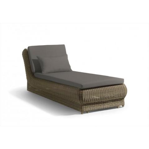 Chaise longue ORALANDO de manutti, avec coussin