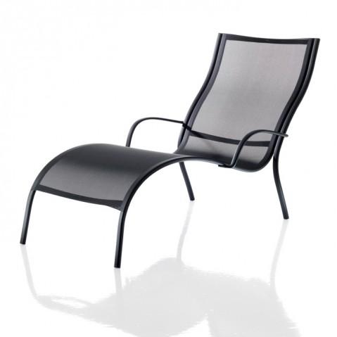 Chaise longue PASO DOBLE de Magis noir