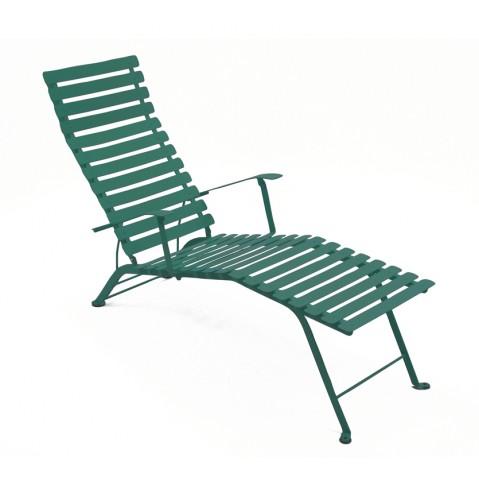 Chaise longue pliante BISTRO de Fermob, Cèdre