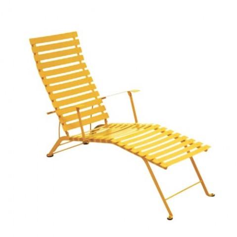 Chaise longue pliante BISTRO de Fermob, Miel